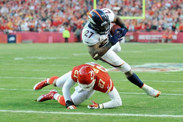 Knowshon Moreno's Updated Fantasy Outlook Heading into Week 14