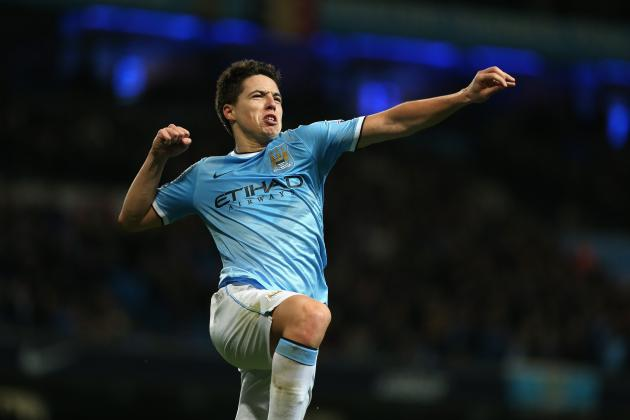 Samir Nasri's Revival Is Sparking Manchester City's Title Push