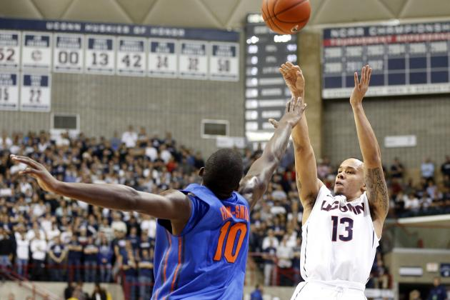 UConn Stuns Florida 65-64  in Storrs on Last Second Shot from Shabazz Napier