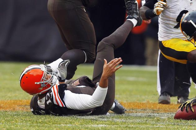 Injuries at Quarterback Leave Browns in Driver's Seat for Top 2014 Draft Pick