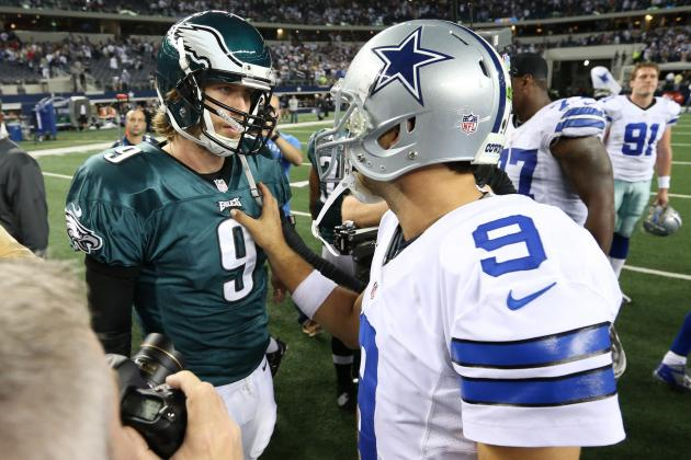 The Eagles and Cowboys Could Be Destined to Meet on Wild Card Weekend