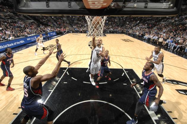 Tim Duncan's Game Winner Gives San Antonio a 102-100 Win over Atlanta
