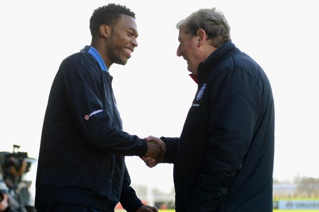 Daniel Sturridge Was Pushed to Play Through Injury, Admits Roy Hodgson