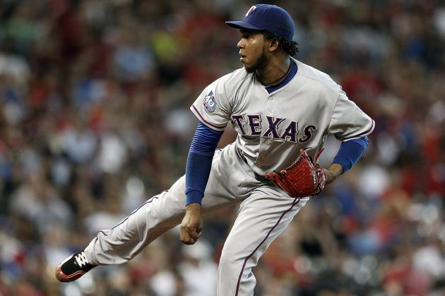 Feliz, Potential Texas Rangers Closer, Has First Rough Winter-Ball Outing