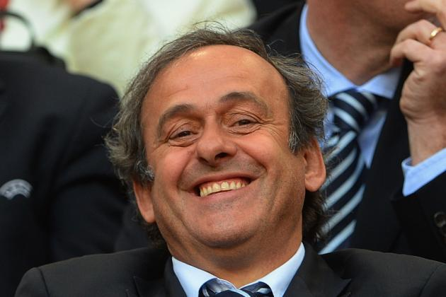 Michel Platini Cracks Cristiano Ronaldo Joke Hinting at FIFA Ballon D'Or Bias