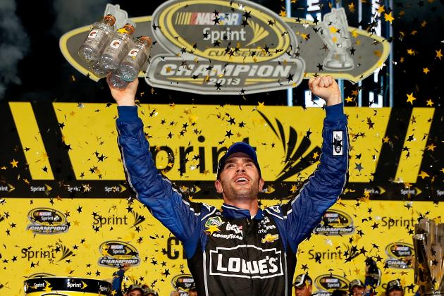 Jimmie Johnson Responds to Donovan McNabb's Comment Drivers Aren't Athletes