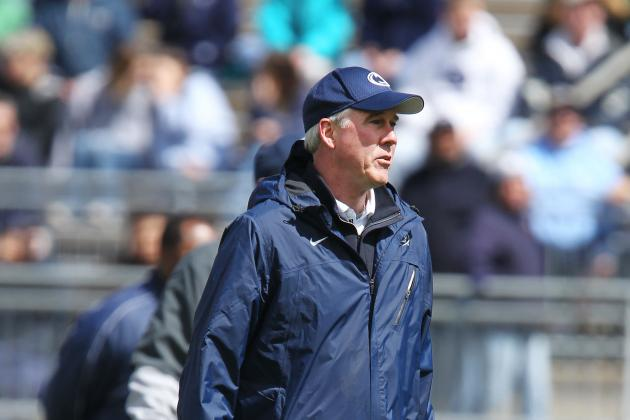 Reports: QB, LB Coaches out at Penn State