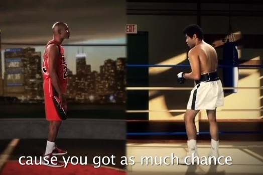 What If MJ, Ali Had a Rap Battle?