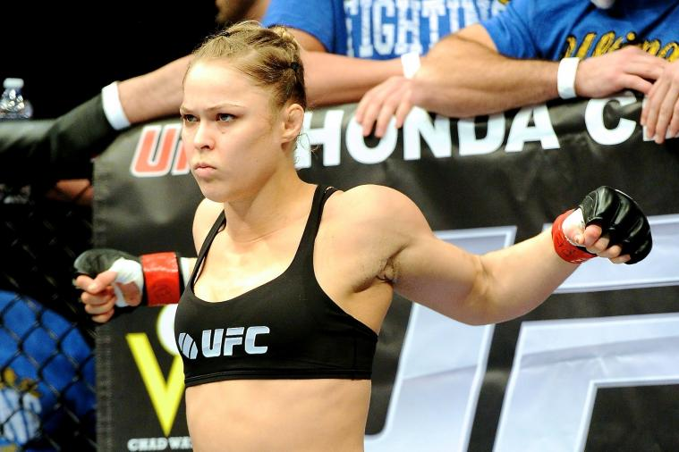 Ronda Rousey Beat Up 2 Guys at the Movies