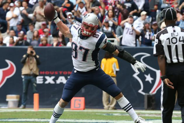 Measuring the Impact of Rob Gronkowski on Tom Brady, Patriots Offense