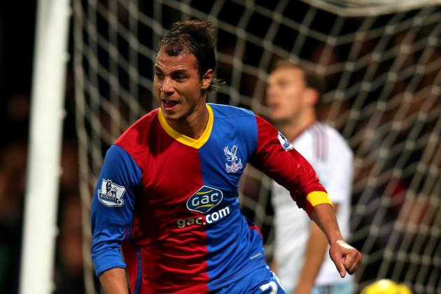 GIF: Marouane Chamakh Scores for Crystal Palace vs. West Ham