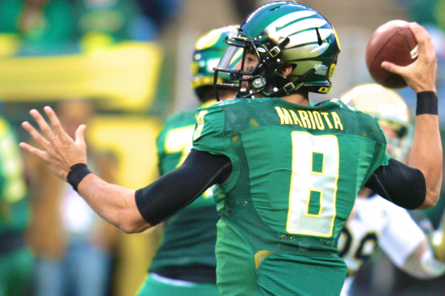 Marcus Mariota Will Return to Oregon Ducks in 2014