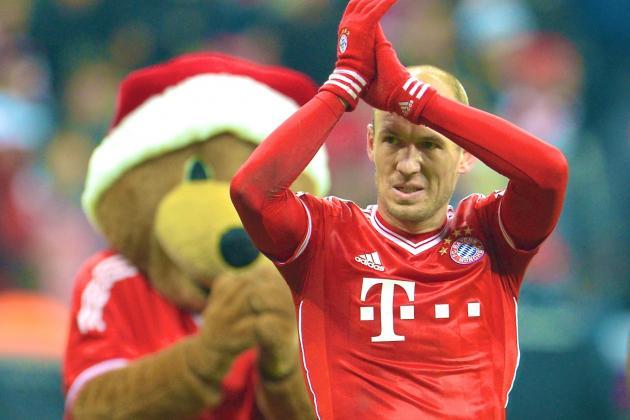 European Team of the Week: Gareth Bale and Arjen Robben Prove to Be Wing Wonders