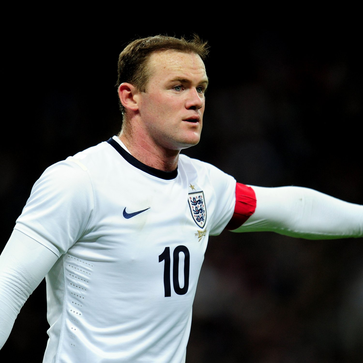 Wayne Rooney Teenager Wayne Rooney England From Team Ready For The