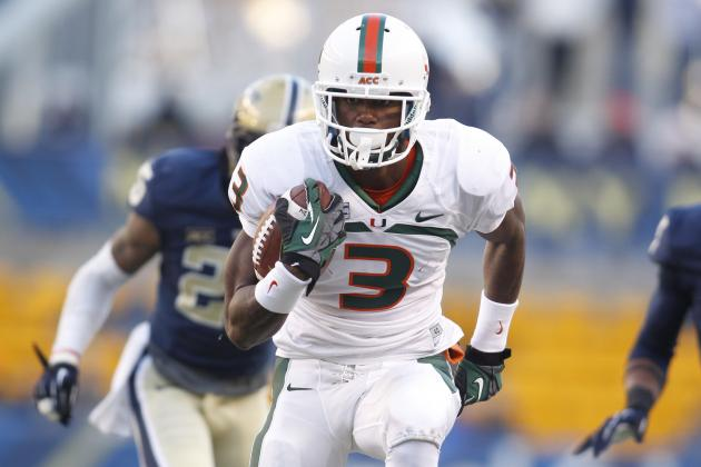 Miami Football: Ways the 'Canes Can Get Stacy Coley More Touches in 2014