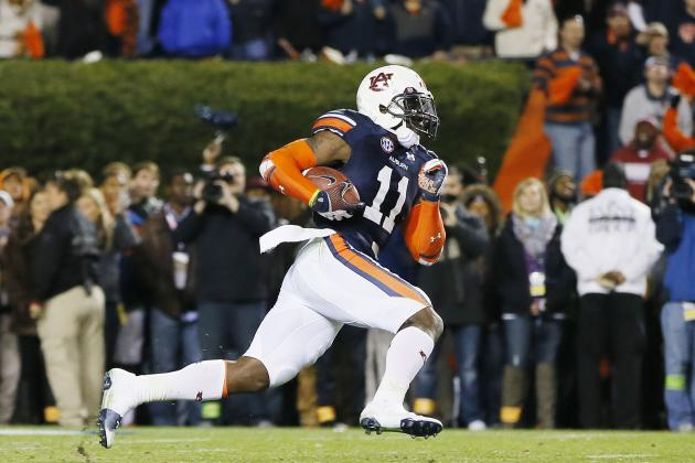 Auburn Got Chris Davis TD Football Back; Value Could Reach as High as $100K
