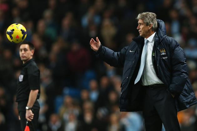 How Manchester City Will Line Up Against West Bromwich Albion