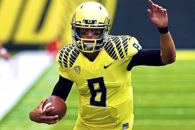 Oregon Football: What Marcus Mariota's Return Means for Ducks' Playoff Chances