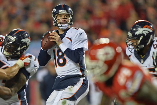 Peyton Manning's Historic Pace Puts Him on Track for Finest Season of Career