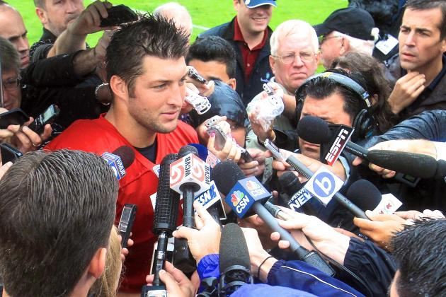 Tim Tebow Reportedly Targeted by ESPN, Fox and CBS