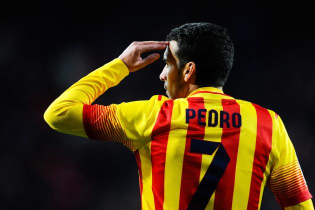 Barcelona's Pedro Reportedly Eyed by Manchester United, Liverpool and Arsenal