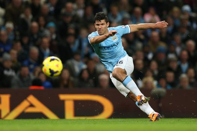 Sergio Aguero Transfer Interest Denied by Barcelona to Relief of Manchester City
