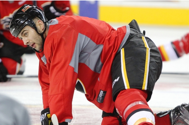Flames Captain Giordano Could Return to the Lineup as Early as Wednesday Night