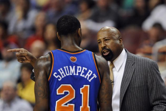 Knicks Reportedly Throwing Mike Woodson Under the Bus in Shumpert Trade Talks