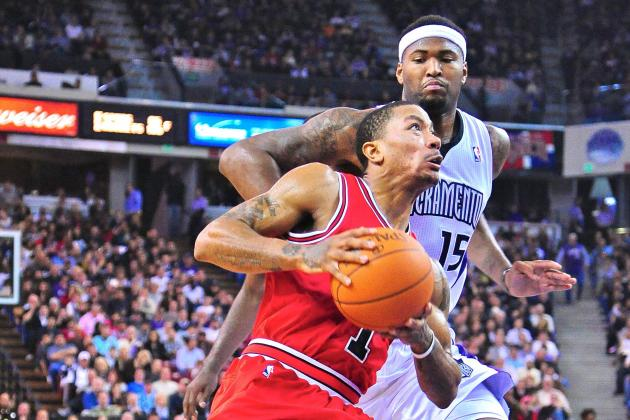 DeMarcus Cousins Takes Swipe at Derrick Rose When Joking About Ankle Injury