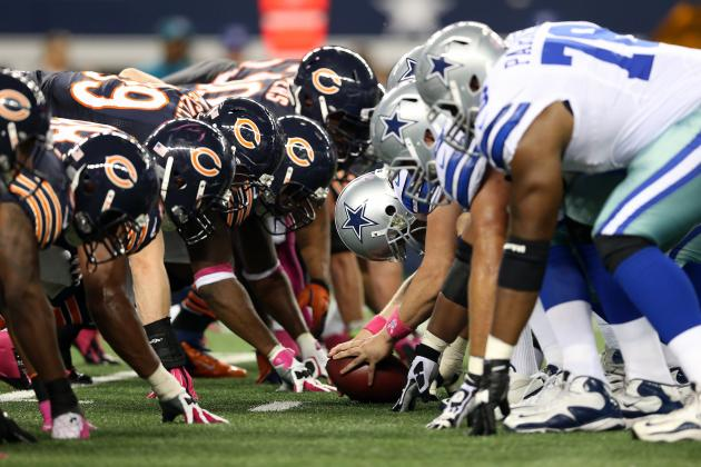 Dallas Cowboys vs. Chicago Bears: Betting Odds, Monday Night Football Pick