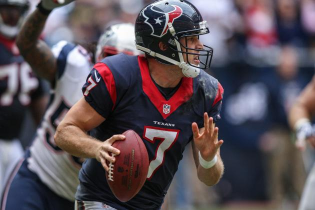 Texans OC Dennison Says Keenum Taking Steps Forward, Back