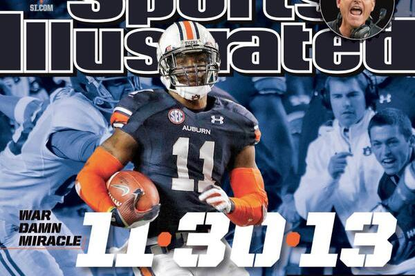 Auburn's Chris Davis, 49ers' Jim Harbaugh and OSU's Braxton Miller on SI Covers