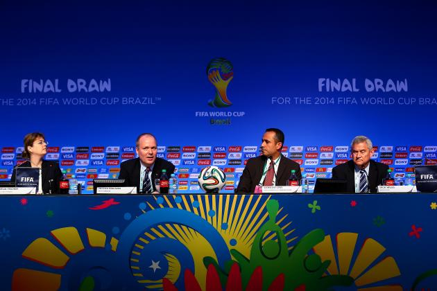 World Cup Draw Format 2014: Explaining How FIFA Group Selection Process Works