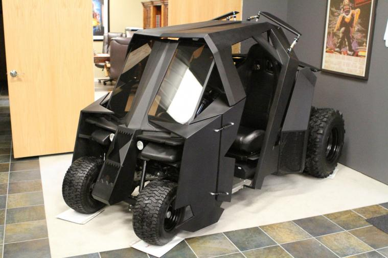 Batmobile Golf Cart Sells for $17,500 on eBay
