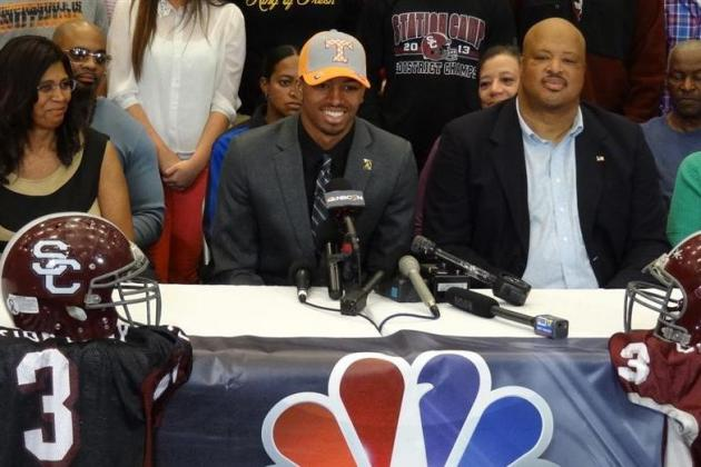 Tennessee Football: 4-Star WR Josh Malone Commits, What It Means for Vols