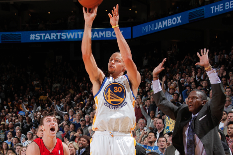 The Warriors' Incredible Fourth-Quarter Comeback in One Photo