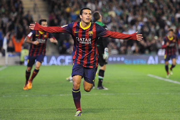 Manchester United Transfer Rumours: Barcelona's Pedro Should Be Target for Moyes