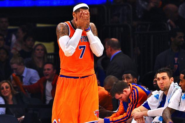Carmelo Anthony Calls New York Knicks the 'Laughingstock' of the NBA