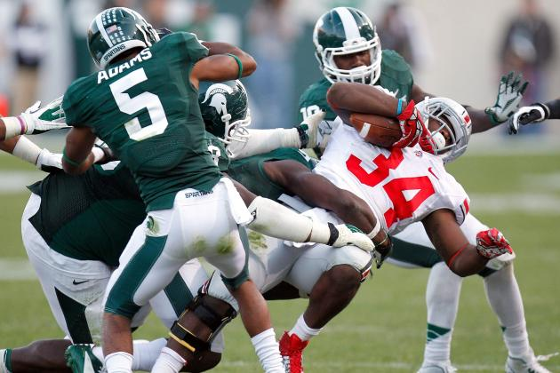 Big Ten Championship Game 2013: Keys to Spartans Slowing Buckeyes in Title Tilt