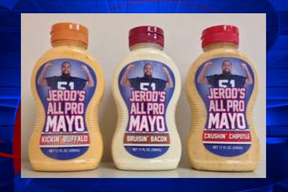 Patriots' Jerod Mayo to Release His Own Line of Mayonnaise