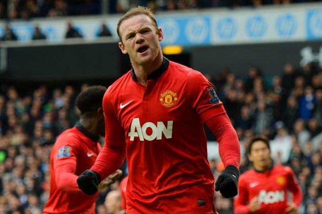 Wayne Rooney Yellow Card: How Manchester United Will Fare in Star's Absence
