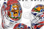 NHL Goalie's Sweet Angry Flanders Mask
