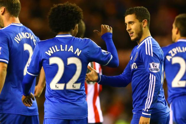 Eden Hazard Takes Charge in Oscar's Absence to Deliver Chelsea Win