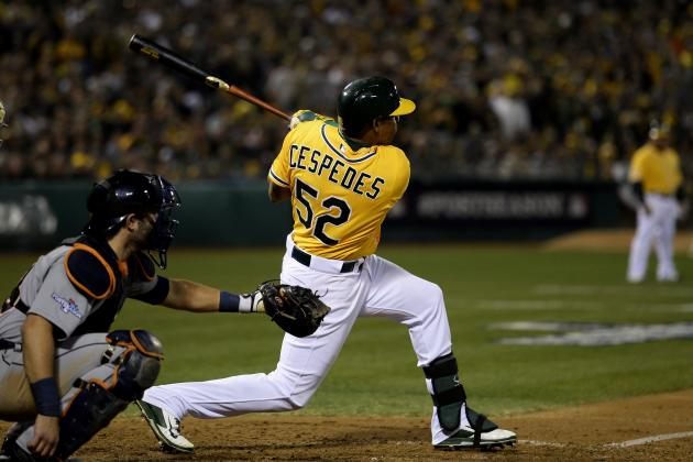 Yoenis Cespedes Rumors: Is A's Star Worth a Blockbuster Trade Package?
