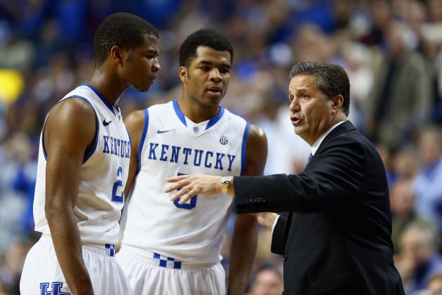 Kentucky Basketball: Blueprint for Wildcats to Correct 1st-Half Issues