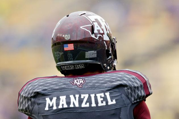 Johnny Manziel Could Cash in on Slipping QB Draft Class