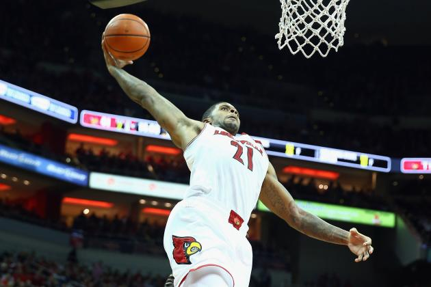 No. 7 Louisville Uses Balanced Attack to Rout UMKC