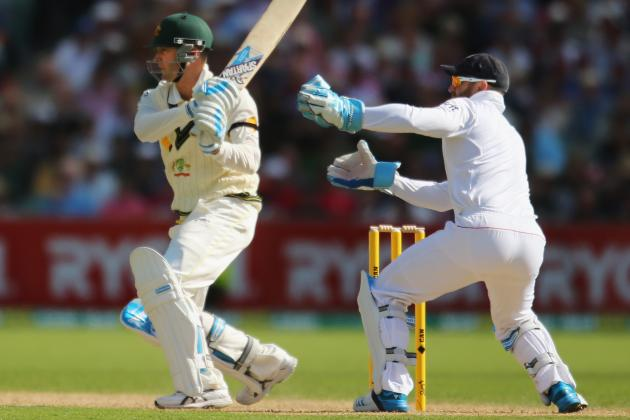 Australia vs. England Ashes 2013: Day 1 Scorecard and Recap from Adelaide