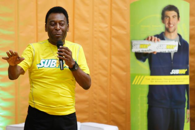 Pele Refuses to Perform World Cup Draw for Fear of Bad Luck for Brazil