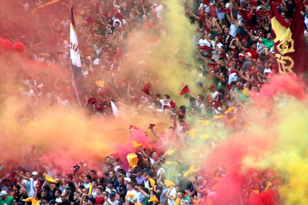 Images: A Season in Roma's Stands